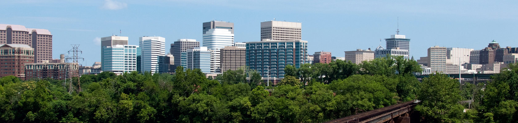 Richmond VA skyline during they day | Breit Cantor: Richmond Personal Injury Attorneys